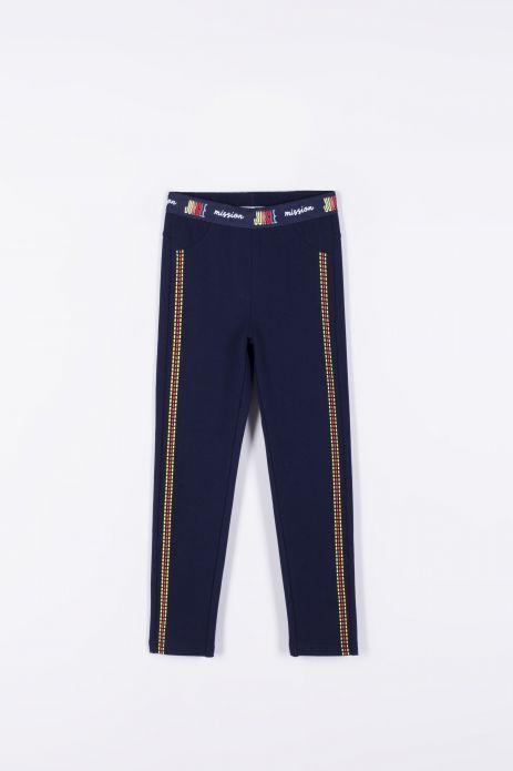 Kalhoty z pleteniny