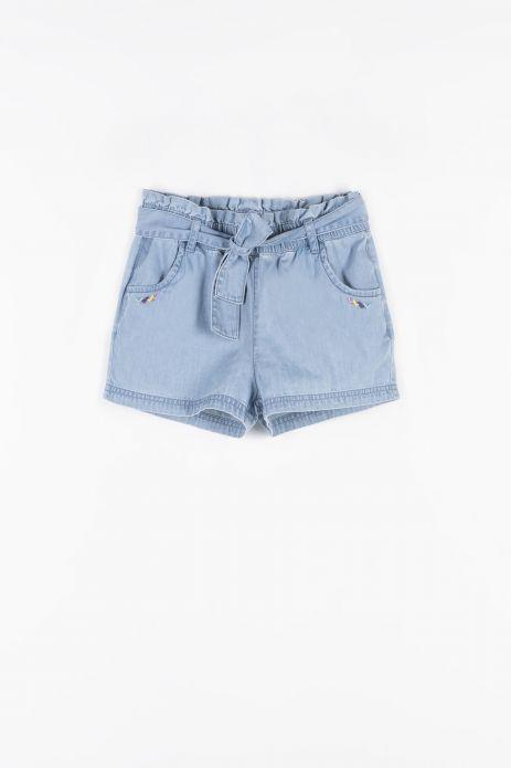 Krátké džínové kalhoty