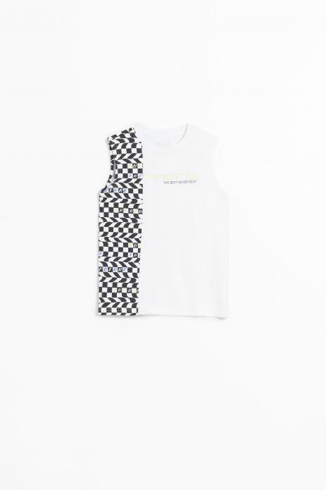 Tričko bez rukávů