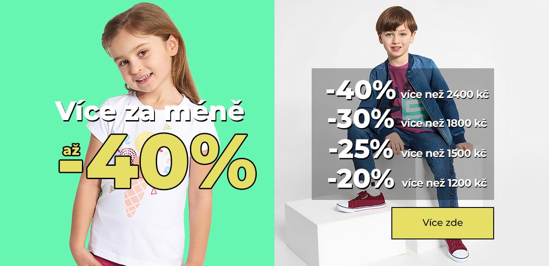 Schodkowa do 40% CZ